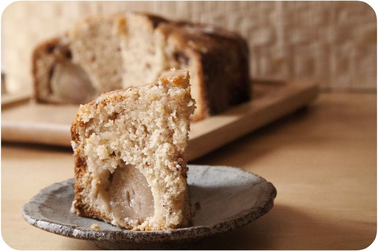 pear almond cake | almond cakes | Pinterest