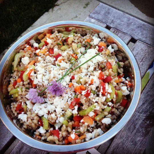 Barley confetti salad | Food | Pinterest
