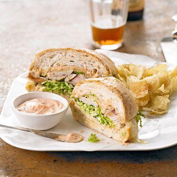 Turkey Reuben Loaf | Sandwich, burger, etc :) | Pinterest