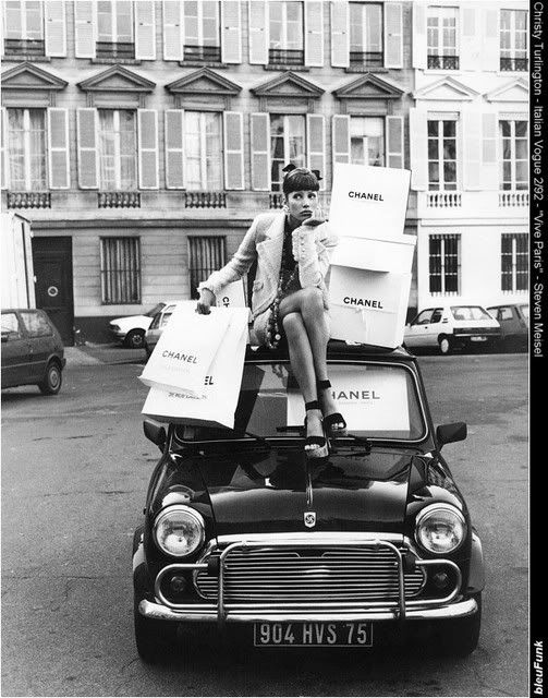 A Chanel shopping spree!  I would LOVE that!