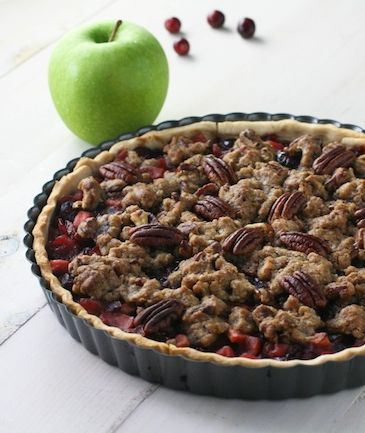 Feed Your Sole: Cranberry Apple Pecan Tart