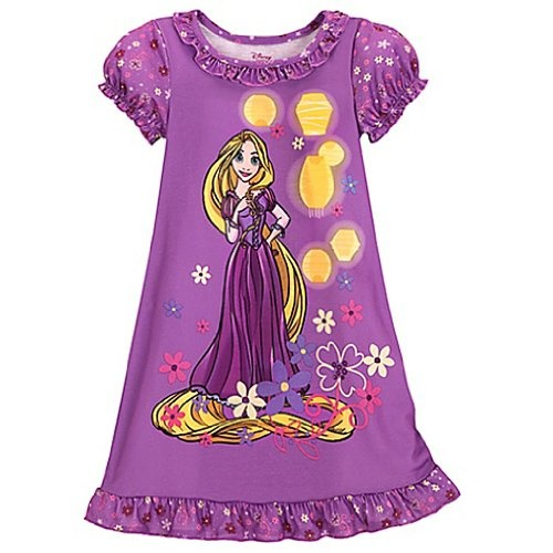 Disney Store Floating Lanters Rapunzel Nightshirt