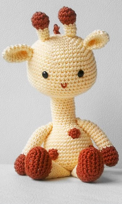 Giraffe crochet pattern Crochet Patterns Pinterest