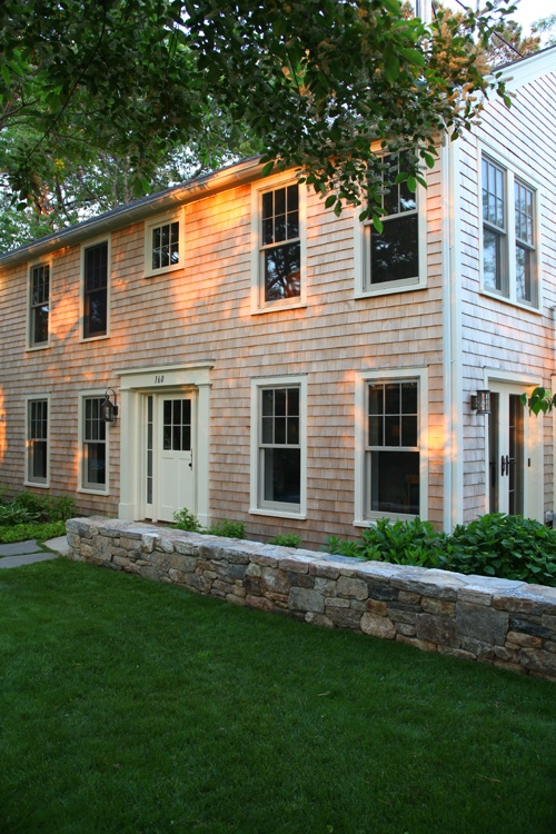 Pin by cape associates inc custom builders on exteriors for Shingle art cape cod