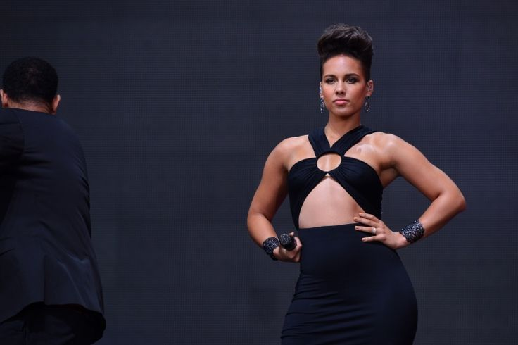 This girl is still on fire. Alicia Keys brings the heat to the 2013 Global Citizen Festival on Sept. 28 in New York