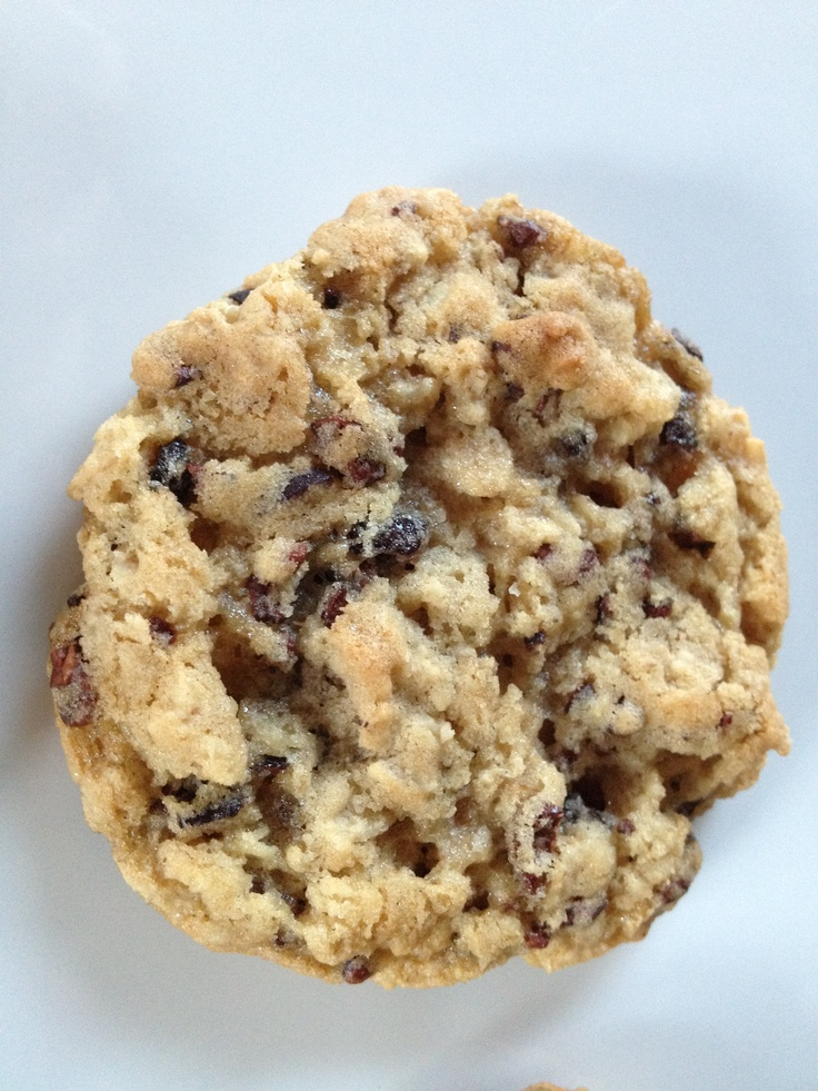 Oatmeal Cocoa Nib Cookies | Strudel and Streusel | Pinterest