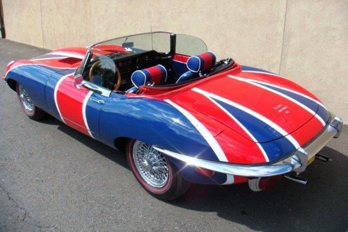 """1970 Jaguar E-Type Austin Powers """"Shaguar"""""""