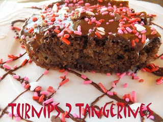 Turnips 2 Tangerines: Banana Brownies with Chocolate Peanut Butter ...