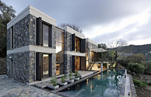 Modern Day Castle House