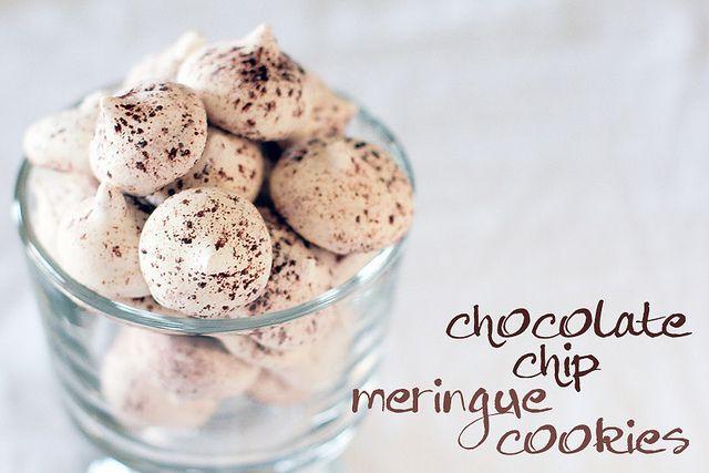 Chocolate Chip Meringue Cookies by *kimmie*, via Flickr