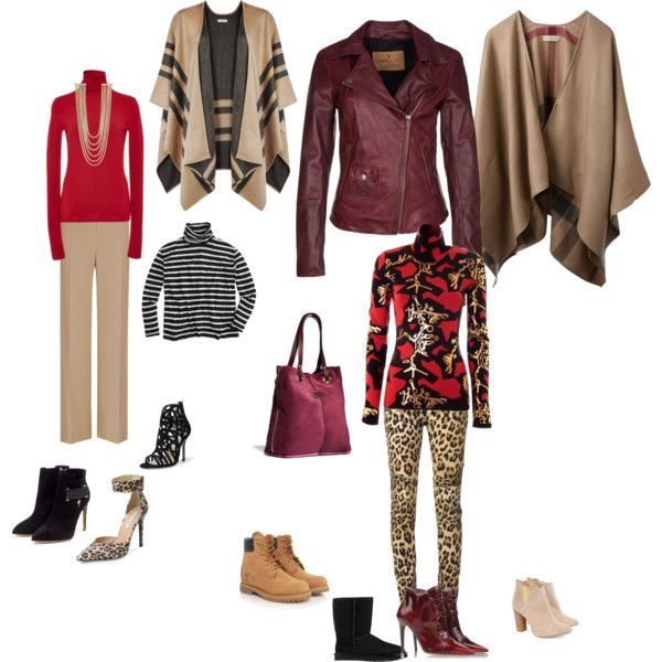 """Splenderosa's Fall Outfits w/Burgundy Bag"" by splenderosa on Polyvore"