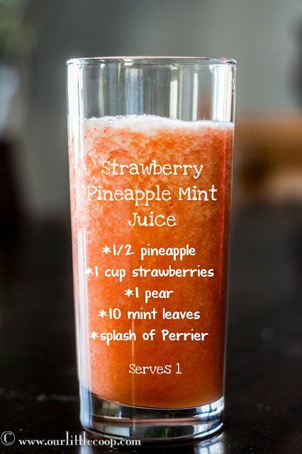 strawberry pineapple mint | | better | | Pinterest