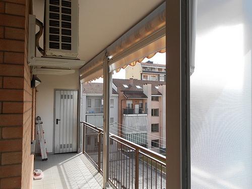Tenda veranda estate inverno Chiusura completa di balcone