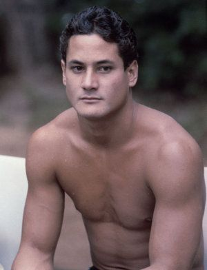 Greg Louganis - he swept the Gold medals in 2 consecutive Olympics.  A great athelete, man and humanitarian.