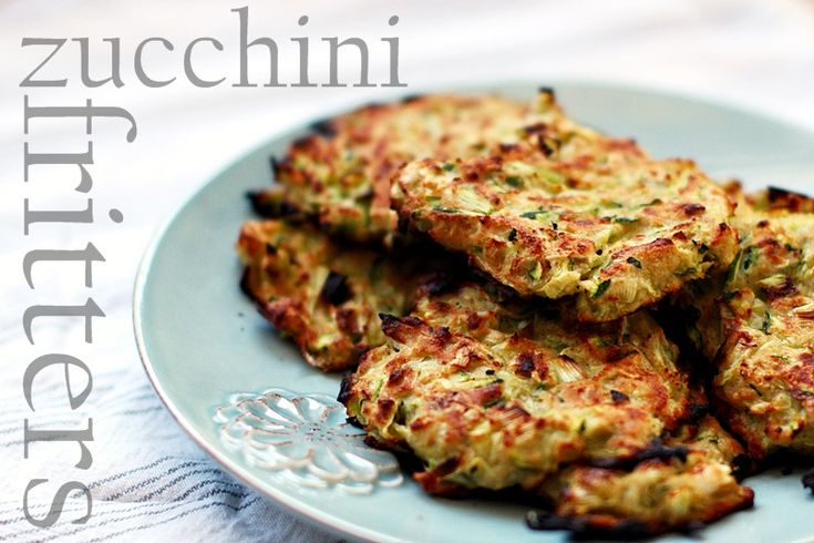 Zucchini Fritters | what i want to cook now... | Pinterest