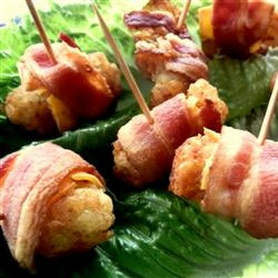 Bacon Wrapped Tater Tots | Recipes | Pinterest