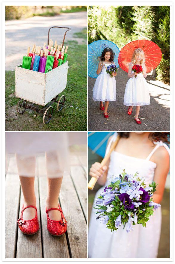 sunny summer wedding