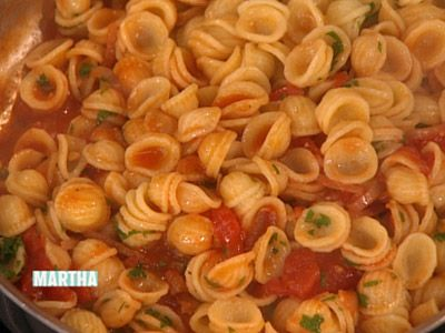 Orecchiette with Bacon and Tomato Sauce, Recipe from Everyday Food ...
