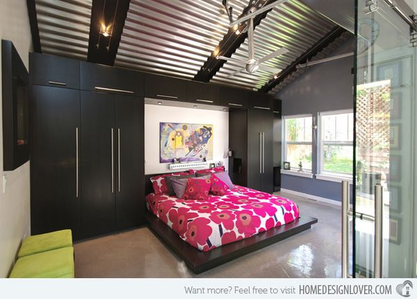 15 charismatic sloped ceiling bedrooms attic pinterest
