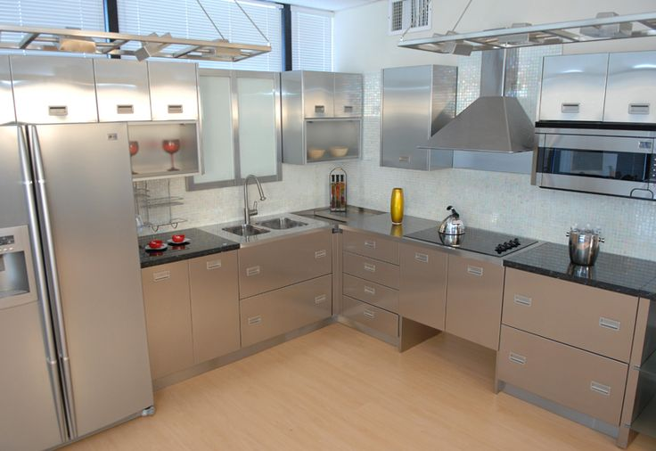 Industrial Kitchen Cabinets Commercial Stainless Steel Kitchen