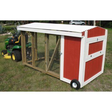 Portable chicken coop master plan for the homestead for Portable coop