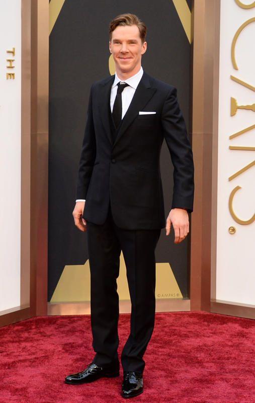 Benedict Cumberbatch 2014 Oscars