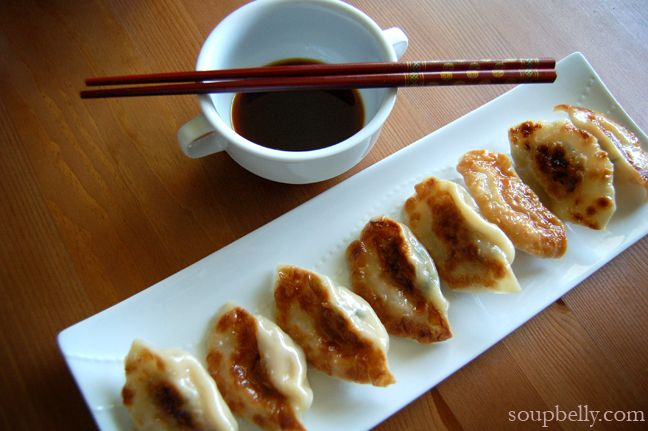 Pork and Chive Potstickers | Plump | Pinterest