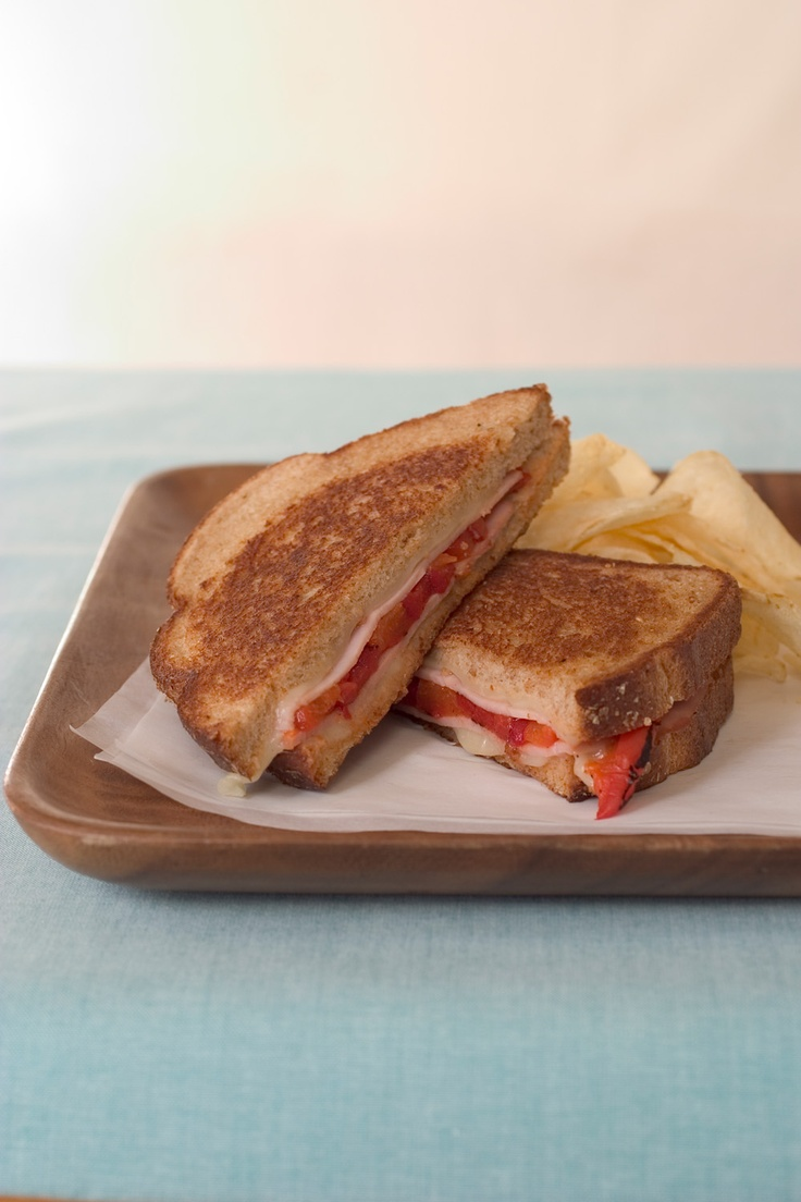 Grilled Pepper Cheese Sandwiches Recipes — Dishmaps