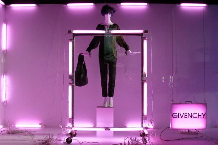 Barney's window display