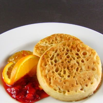 One Perfect Bite: Crumpets, and a nice description of the difference ...