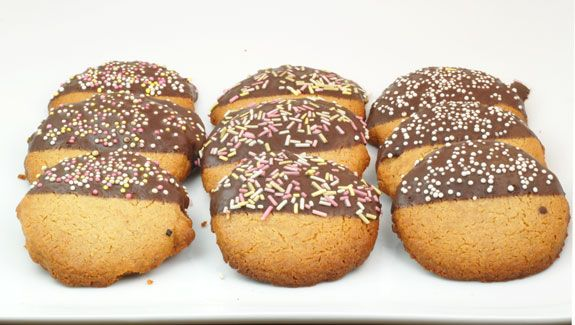... Ginger Shortbread Cookies are an easy grain-free, gluten-free, dairy