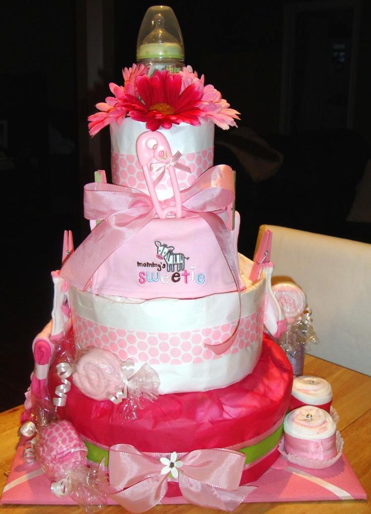 Diaper Cakes Site Pinterest