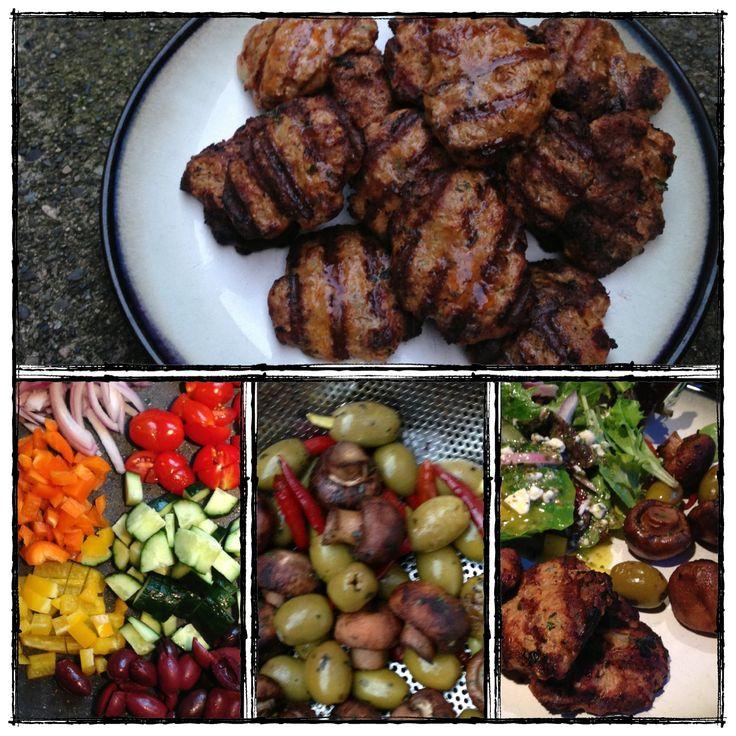 Greek Lamb Burgers   Greeky   Pinterest