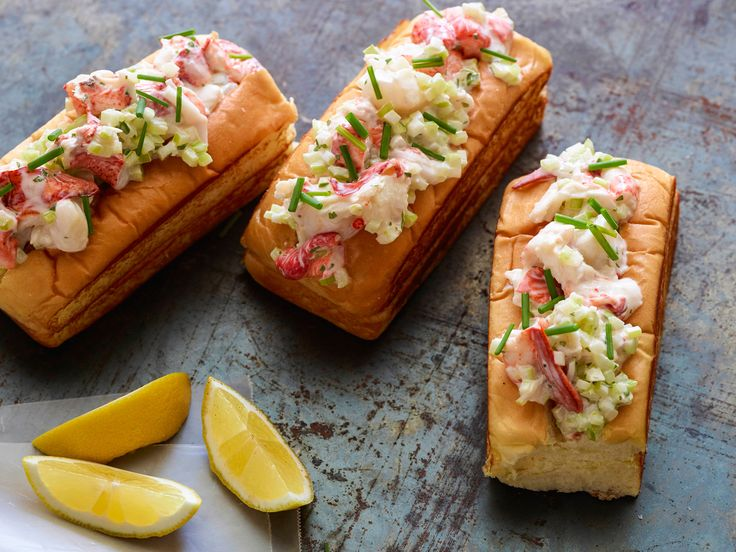 Buttery Lobster Rolls from Jeff Mauro