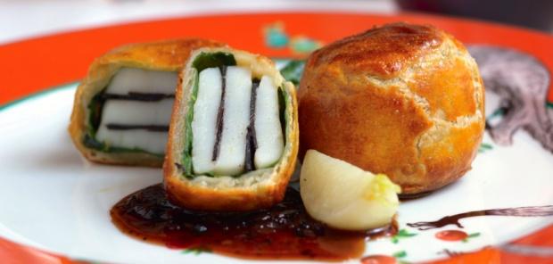 Gojee - Black Tie Scallops Recipe by Food Republic