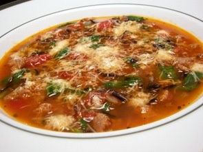 Sausage Soup with Spinach and Wild Rice | Eats. | Pinterest