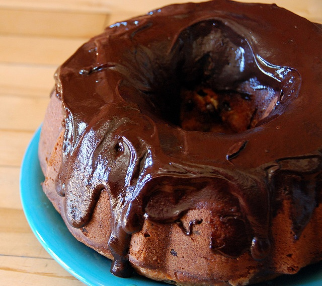 Orange Chocolate Chunk Bundt Cake (Recipe)