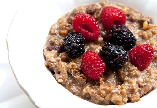 Multigrain Slow Cooker Porridge | nom nom nom | Pinterest