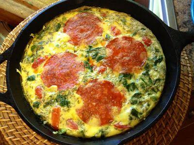 Breakfast Frittata via Paleo Running Mom: Budget Friendly Paleo Meals~