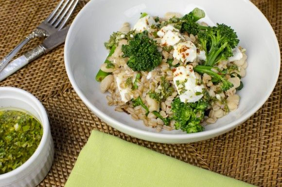 farro and roasted broccolini salad recipes dishmaps salad farro ...