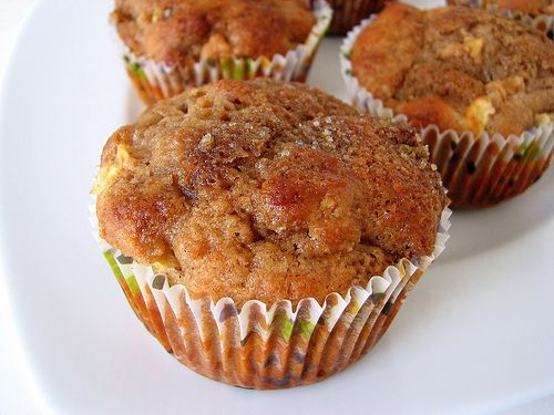 Whole Wheat Apple Muffins | Yummy in my Tummy! | Pinterest