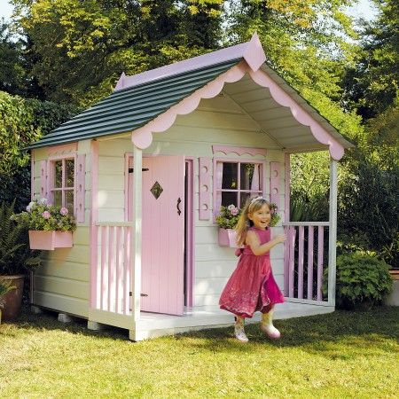 Pink Playhouse Its A Girl Thing Pinterest