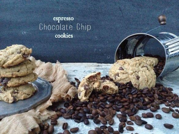 espresso chocolate chip cookies | Cookies | Pinterest