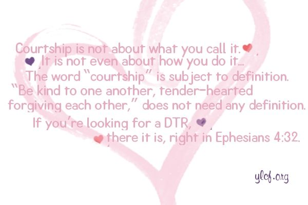 Courtship vs dating
