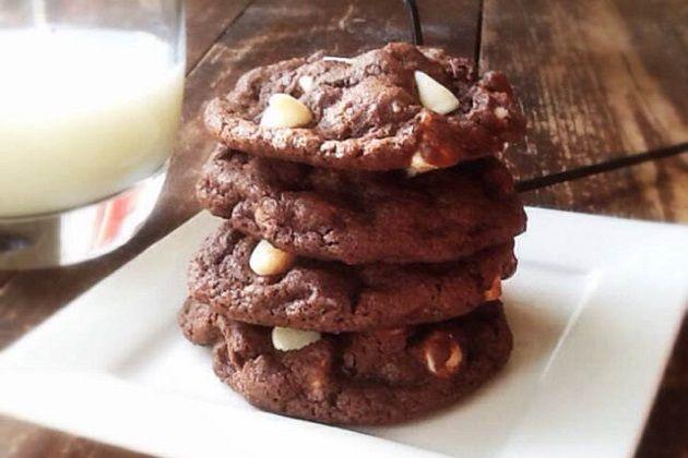 Triple Chocolate Peanut Butter Cookies | Recipe