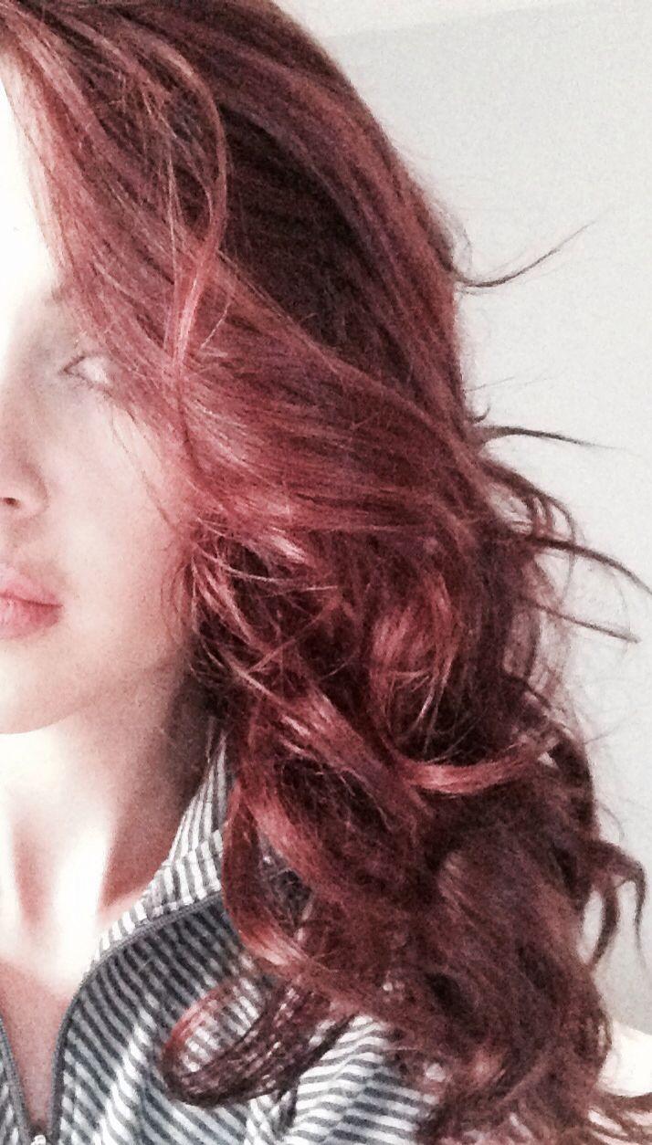 Cherry Cola Hair Color Cherry cola hair