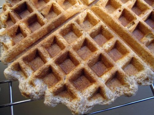 Peanut Butter Waffles | Recipes to Try : Breakfast | Pinterest