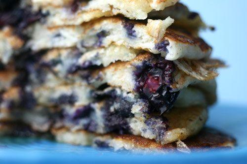 Blueberry Cornmeal Pancakes | Foodie Love | Pinterest