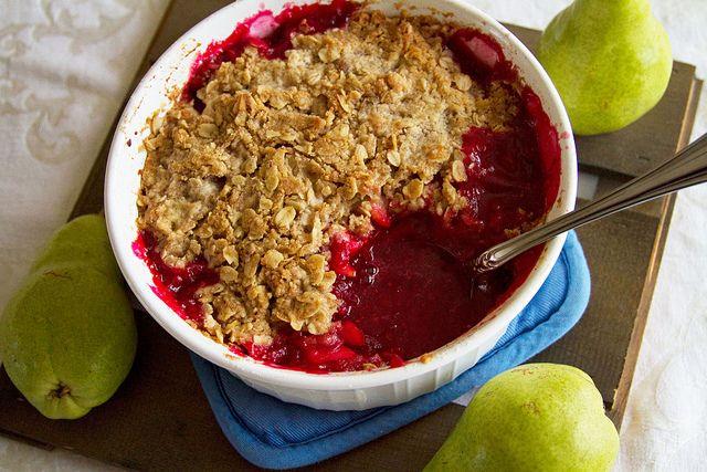 Cranberry-Pear Crisp   Desserts   Pinterest