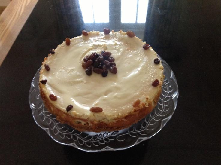 Rum & Raisin Cheesecake. | The Recipes | Pinterest